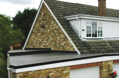 garage flat roof