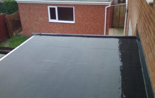 North Somerset garage flat roof epode