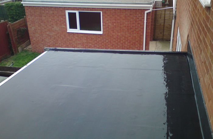 North Somerset garage flat roof epode