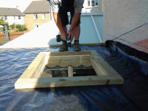 installing a conservatory roof light