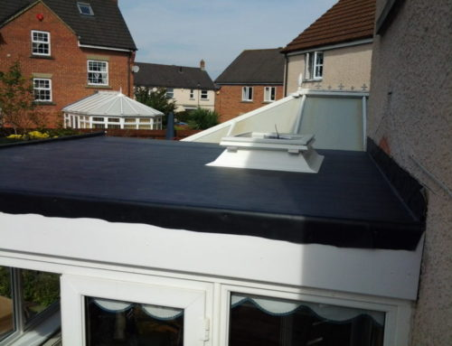 Converting a conservatory roof to an EPDM insulated flat roof