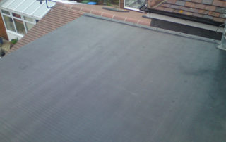 garage flat roof solution