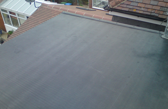 garage flat roof solution