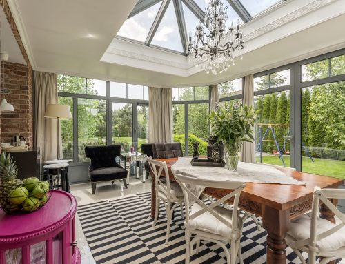 Making your Hot Conservatory a Room for Work, Rest or Play.