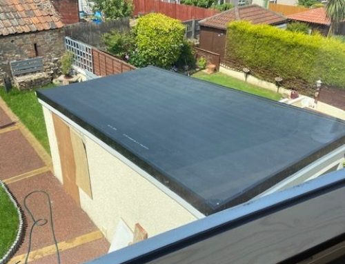 Another Successful Weston Garage Flat Roof Project