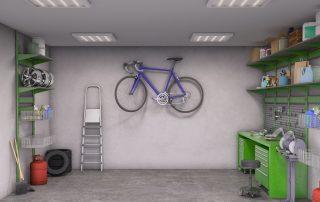 converting the garage
